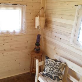 Drevený obklad - interiér